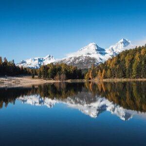 calm mountain